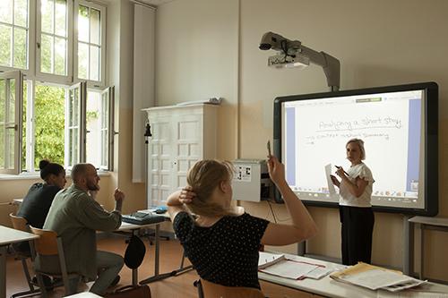 Peter-A.-Silbermann-Schule - Abendgymnasium in Berlin - Fachbereich Deutsch und Fremdsprachen