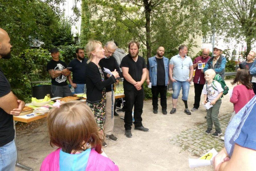 Schulbienen 2019 an der Peter A. Silbermann Schule - Empfang
